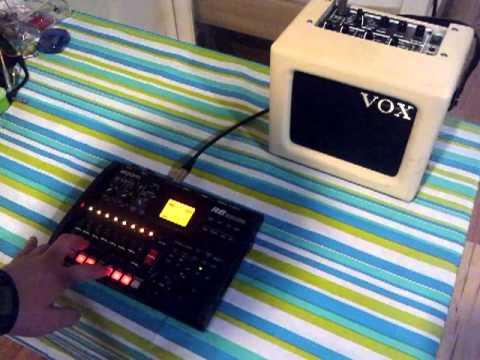 Zoom R8 - Sampler test(using pads as keys)