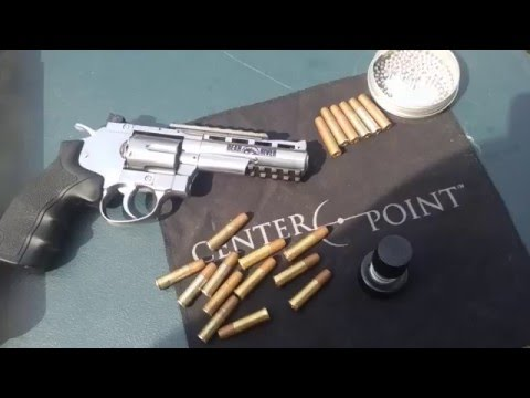 Bear river 4 inch 🔫 revolver chrony test