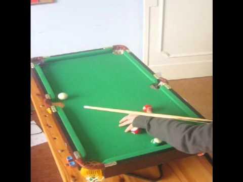 Mini Pool Snooker Table Youtube
