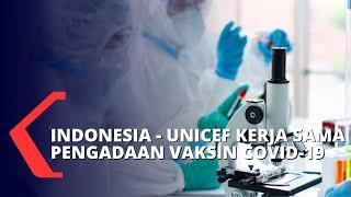 Kerja Sama dengan UNICEF, Indonesia Dipastikan Dapat 20% Akses Vaksin Covid-19
