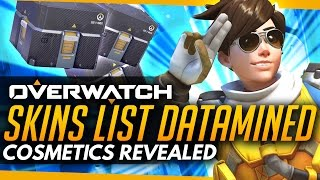 Overwatch | Cosmetics List Datamined - Anniversary Predictions