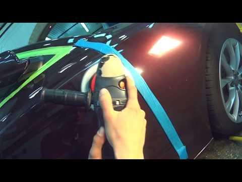 Как полируют автомобиль видео