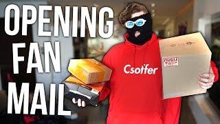 OPENING FAN MAIL