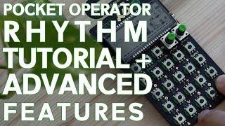 TE Pocket Operator PO-12 RHYTHM Tutorial + Advanced features!