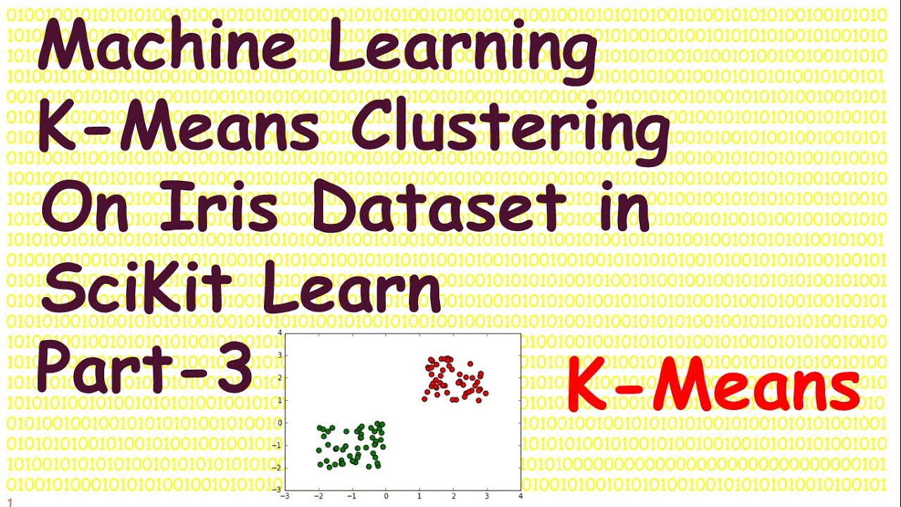 Machine Learning K Means Clustering in SciKit Learn with Iris Data Part 3
