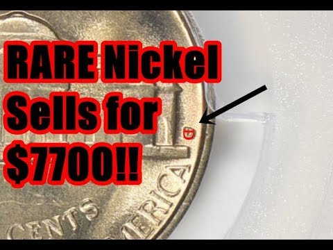 ANOTHER INCREDIBLE JEFFERSON NICKEL VARIETY SELLS AT AUCTION FOR $7700!  WHAT DOES IT LOOK LIKE?