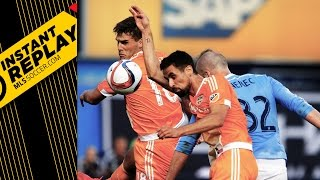 INSTANT REPLAY: Handballs galore, RBNY