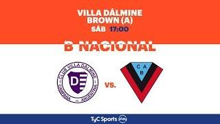 Villa Dálmine vs Brown de Adrogue full match