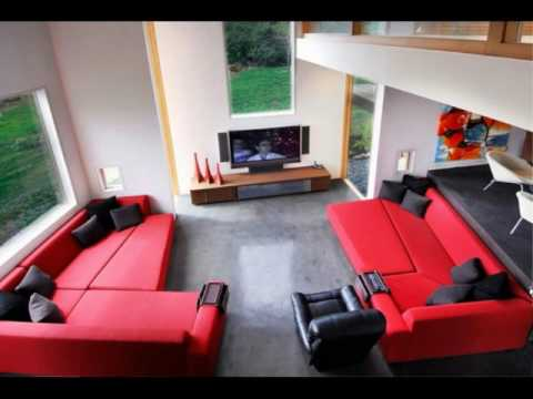 red-and-black-living-room-apartment-ideas