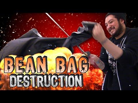 Bean Bag Destruction