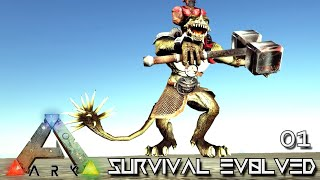 ARK: SURVIVAL EVOLVED - NEW EPIC JOURNEY BEGINS !!! | ARCHAIC ASCENSION PYRIA E01
