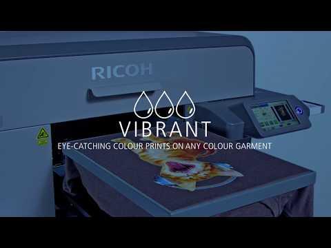 The Latest RICOH Ri 3000/Ri 6000 Direct To Garment Printers