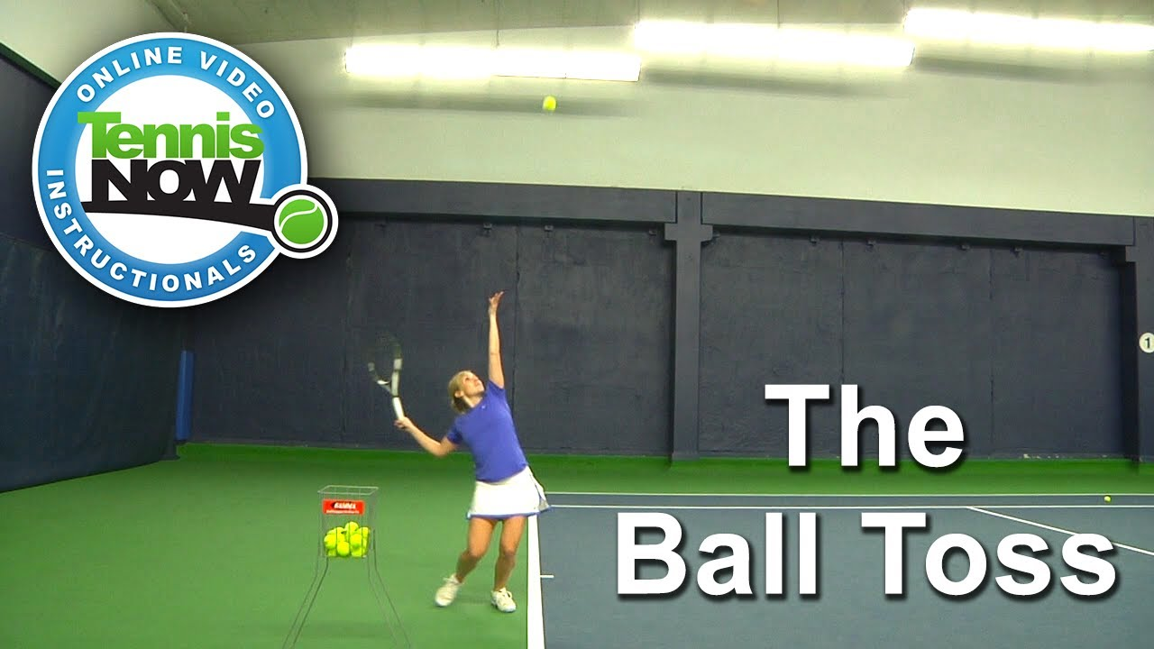how to serve in tennis video