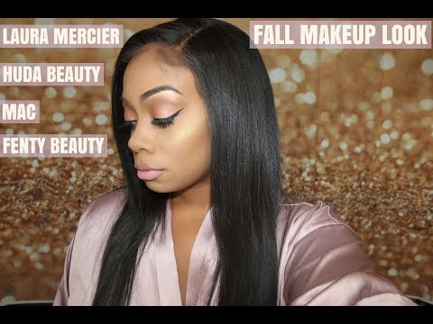 New Rihanna FALL look feat. Laura Mercier, Fenty Beauty, Huda Beauty, and more!