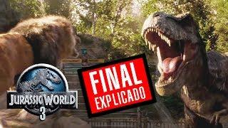 TEORÍA SOBRE EL FINAL DE Jurassic World 2
