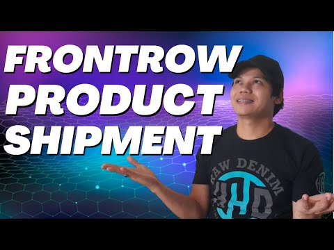 Frontrow Training #31: Frontrow Product Shipment