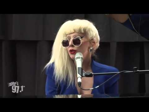 Lady Gaga - You And I(Live at Amp Radio)