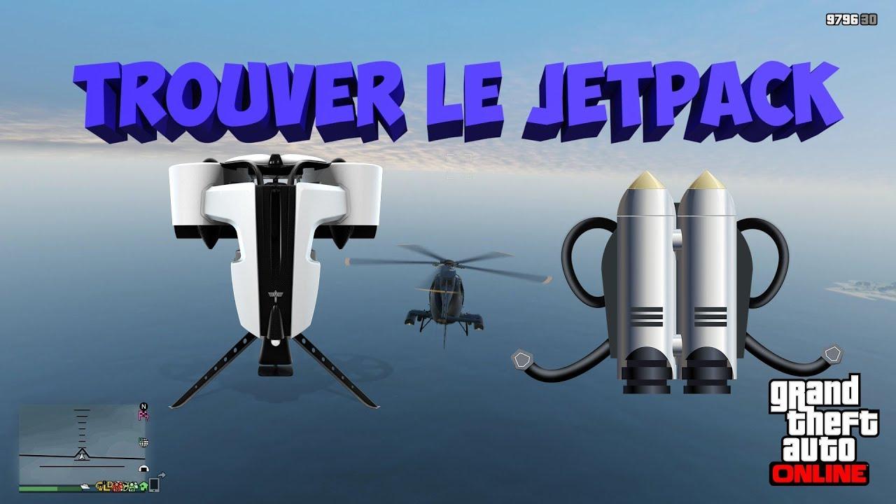 Trouver le Jetpack