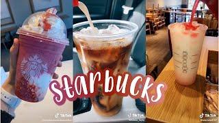 Starbucks Drinks🍹🧊  Tiky Toky Compilation