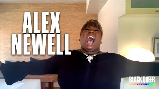 Alex Newell - Lift every voice and sing - Black Queer Town Hall YouTube Videos