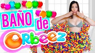 RETO: BAÑO de 1 MILLÓN de BOLITAS DE COLORES 🎨!!! - ORBEEZ BATH CHALLENGE (Bolitas de Gel) | Mariale thumbnail
