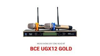 Khám phá những tính năng hiện đại của mic không dây UGX12 Gold