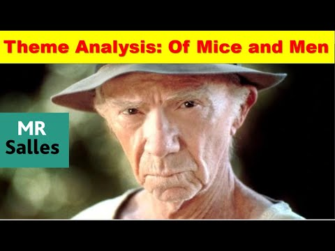 Revise all the themes of Of Mice and men