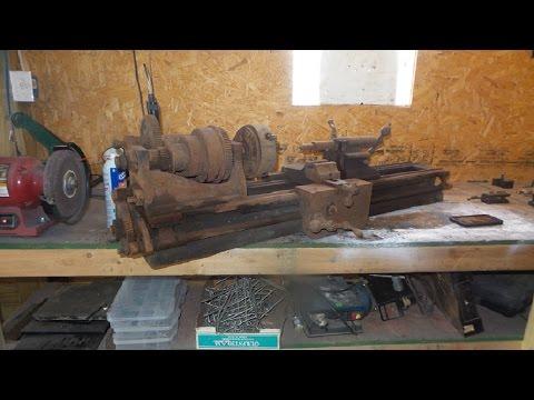 Vintage Lathe Restoration: Pt. 2