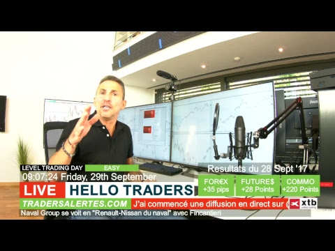 Emission Hello Traders du 29 Septembre 17
