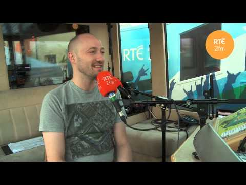 Paul Kalkbrenner in the Roadcaster with Jenny Greene