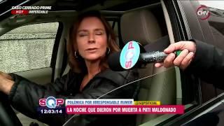 Rumores dieron por muerta a Patricia Maldonado   SQP