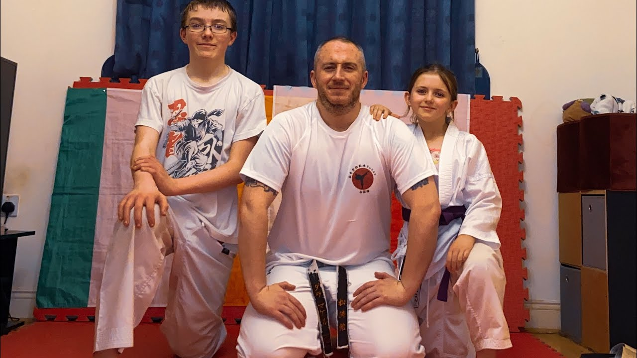Beginners kihon techniques, Shotokan Karate - Limerick Shojinkai