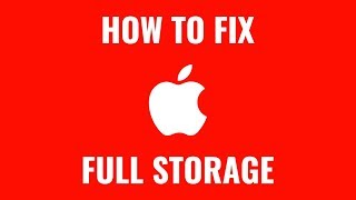 How to Clear out Storage Space on Mac Apple Computer