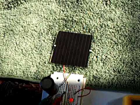 Automatic solar Joule Thief