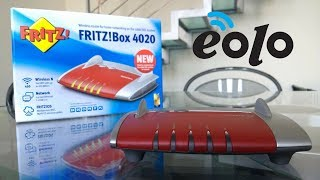 Come configurare il router WiFi AVM FRITZ! Box 4020 con Eolo