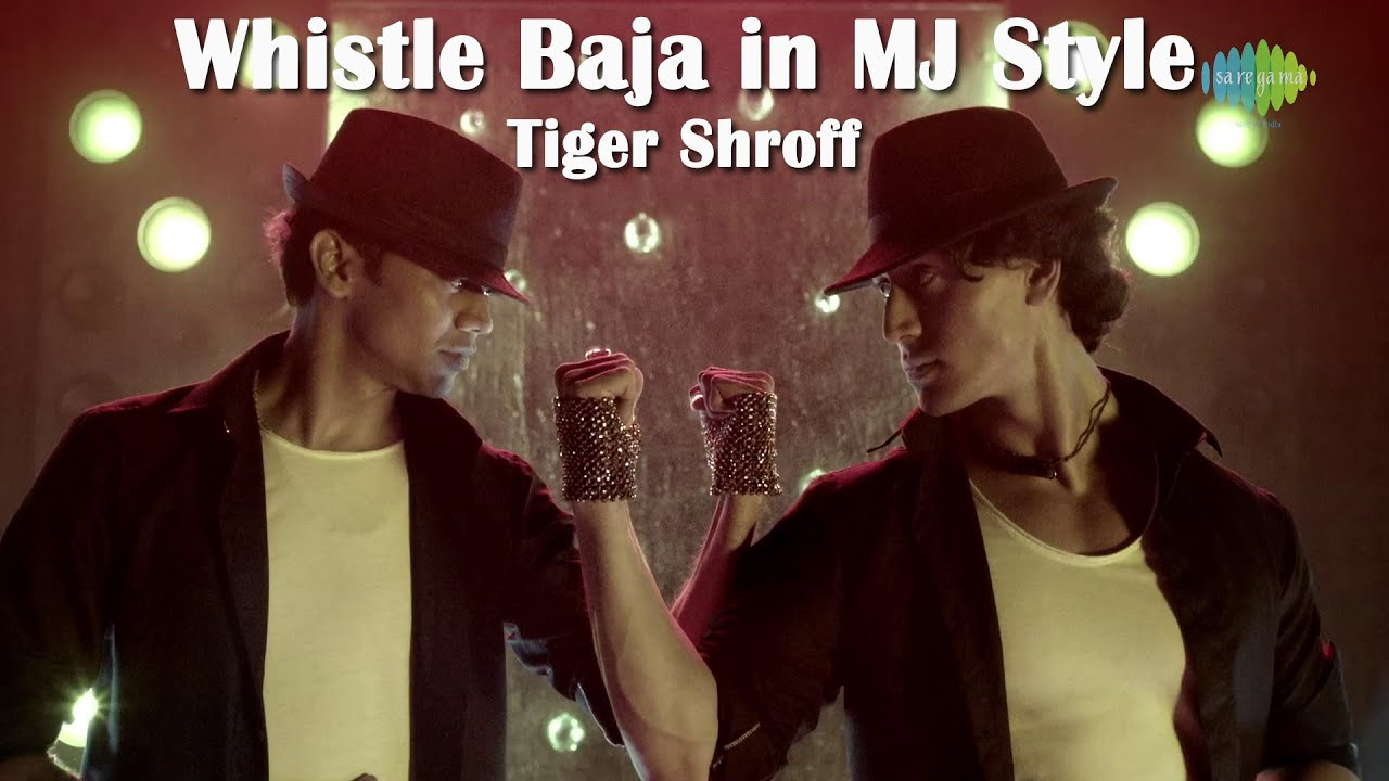 Whistle Baja In Mj Style Tiger Shroffs Tribute To The Michael