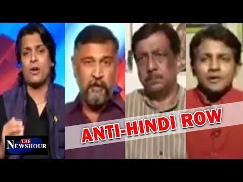 Anti-Hindi Row: Language WAR Intensifies In Karnataka | The Newshour Debate (6th July)