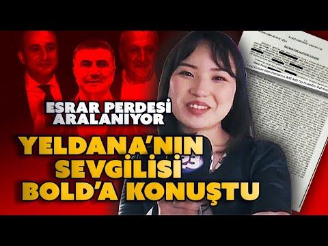 Esrar perdesi aralanıyor / Yeldana'nın Türk sevgilisi Bold'a konuştu