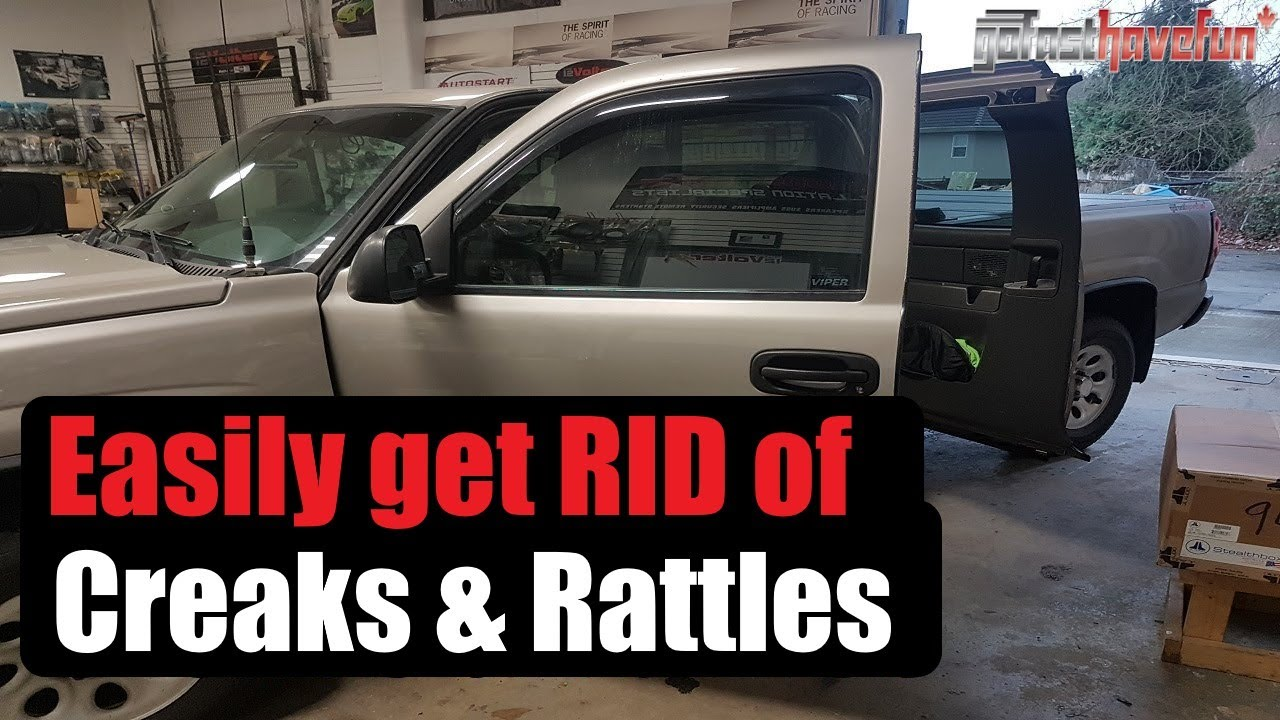 How To Stop Creaks And Rattles In Your Chevy Silverado Anthonyj350 Youtube