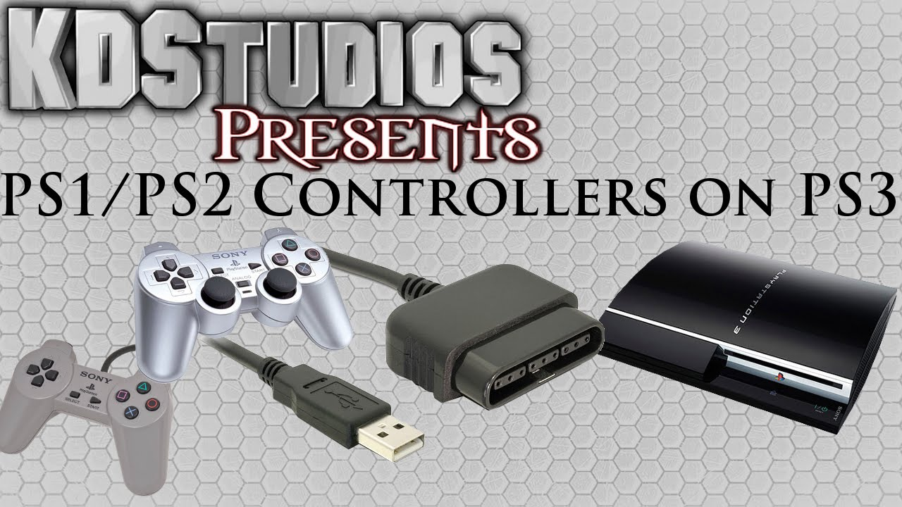 hight resolution of connecting ps1 or ps2 controllers to the ps3 how to tutorial ps to usb youtube