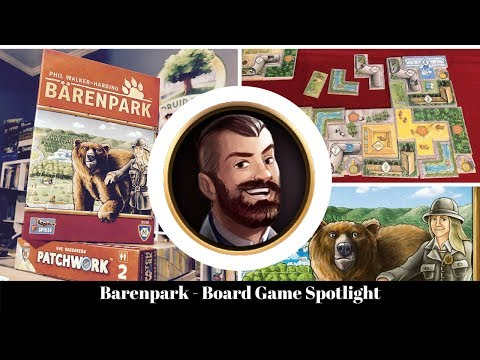 Barenpark is better than Patchwork and Cottage Garden - Board Game Spotlight