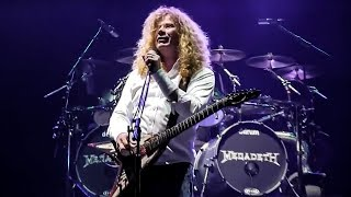 Megadeth in Costa Rica - Black Sabbath, Megadeth Tour 2013