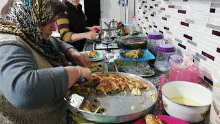 Akşam yemeği misafirimiz var ıspanaklı börek nasıl yapılır Şadiye anne yemekleri