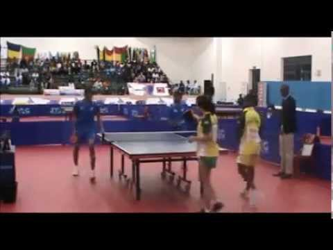 2014 AFRICA YOUTH GAMES BOTSWANA TABLE TENNIS