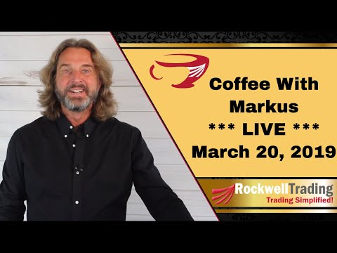 Coffee with Markus – Live Show March 20, 2019