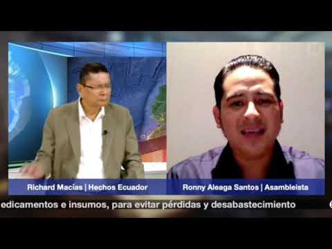 Entrevista Ronny Aleaga