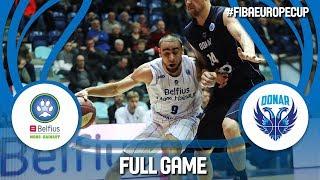 Belfius Mons-Hainaut (BEL) v Donar Groningen (NED) - Full Game - FIBA Europe Cup 2017-18