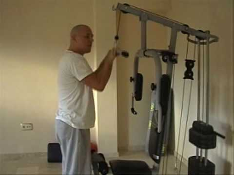 MULTI GYM Tricep muscle - YouTube on