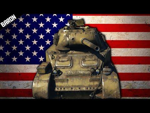 War Thunder's CAPTAIN AMERICA, My Favorite American TANK - War Thunder Tanks Gameplay