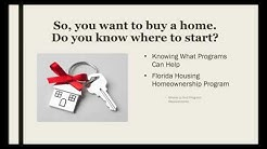 Florida First Time Homebuyer Programs